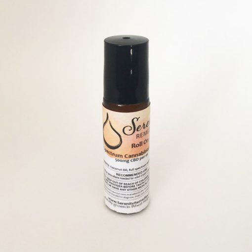 Serenity Remedies CBD All Natural Organic Cannabinoid Hemp Products - CBD Oil Roll On 500mg - Shop and Buy online