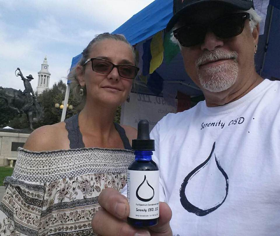 Serenity CBD All Natural Organic Cannabinoid Hemp Products - The Serenity Team at work down on the farm and at events around Colorado