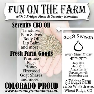 Farmers Market Serenity CBD All Natural Organic Cannabinoid Hemp Products - Shop Products - Purchase - Buy Online