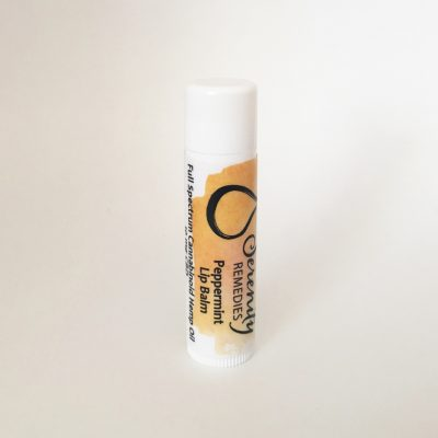 Serenity CBD All Natural Organic Cannabinoid Hemp Products - Lip Balm with Shea Butter - shop and buy online