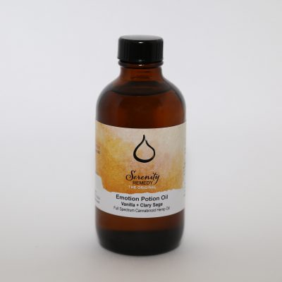 Serenity Remedies CBD All Natural Organic Cannabinoid Hemp Products - CBD Body Oil - Shop and Buy online - essential oil - pomegranate oil avocado oil almond oil apricot oil vitamin e - anti-inflammatory and anti-aging - clary sage vanilla