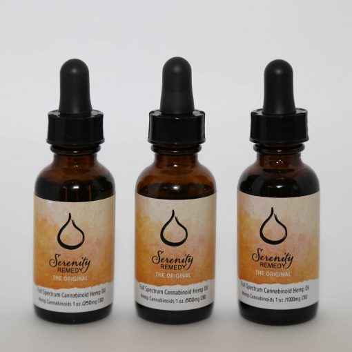 Serenity Remedies CBD All Natural Organic Cannabinoid Hemp Products - CBD Oil Tincture - Shop and Buy online